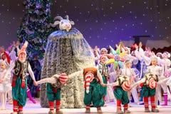 Τα Χριστούγεννα των παιδιών παρουσιάζουν Στοκ φωτογραφίες με δικαίωμα ελεύθερης χρήσης