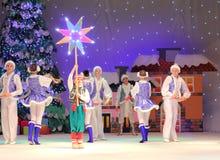 Τα Χριστούγεννα των παιδιών παρουσιάζουν Στοκ εικόνες με δικαίωμα ελεύθερης χρήσης