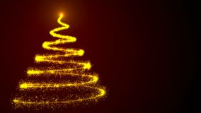 τα Χριστούγεννα χρωματίζουν το μαγικό δέντρο ουράνιων τόξων abstract background holiday Ζωηρόχρωμη τρισδιάστατη απόδοση Στοκ Φωτογραφίες