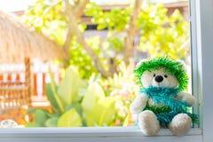 Τα Χριστούγεννα Teddy αντέχουν, τα νέα Χριστούγεννα Teddy έτους αντέχουν με το διάστημα αντιγράφων Στοκ εικόνες με δικαίωμα ελεύθερης χρήσης