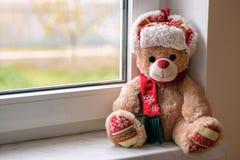 Τα Χριστούγεννα Teddy αντέχουν Στοκ εικόνες με δικαίωμα ελεύθερης χρήσης