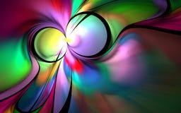 Τα χρώματα του φανταχτερού χρώματος : ελεύθερη απεικόνιση δικαιώματος