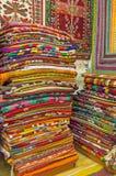 Τα χρώματα των τουρκικών ταπήτων, Antalya Στοκ εικόνα με δικαίωμα ελεύθερης χρήσης