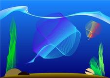 Τα ψάρια μέσα Στοκ Φωτογραφία