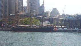 Τα ψηλά σκάφη στην αποβάθρα στο λιμάνι του Σίδνεϊ, Σίδνεϊ, NSW, Αυστραλία στοκ φωτογραφίες με δικαίωμα ελεύθερης χρήσης