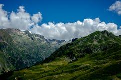 Τα όμορφα βουνά των Πυρηναίων, Γαλλία Στοκ φωτογραφία με δικαίωμα ελεύθερης χρήσης