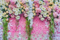 Τα όμορφα λουλούδια διακοσμούν τη σκηνή Στοκ φωτογραφίες με δικαίωμα ελεύθερης χρήσης