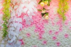 Τα όμορφα λουλούδια διακοσμούν τη σκηνή Στοκ Φωτογραφίες