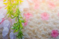 Τα όμορφα λουλούδια διακοσμούν τη σκηνή Στοκ εικόνες με δικαίωμα ελεύθερης χρήσης