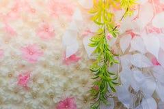 Τα όμορφα λουλούδια διακοσμούν τη σκηνή Στοκ εικόνα με δικαίωμα ελεύθερης χρήσης
