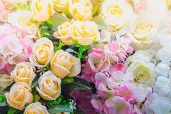 Τα όμορφα λουλούδια διακοσμούν τη σκηνή Στοκ Εικόνες