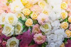 Τα όμορφα λουλούδια διακοσμούν τη σκηνή Στοκ Φωτογραφία
