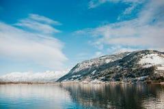 τα όρη Αυστρία kaprun βλέπουν το σκι να κλίνει zell Στοκ φωτογραφία με δικαίωμα ελεύθερης χρήσης