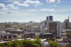 Τα ύψη στο στο κέντρο της πόλης Ταλίν Στοκ Εικόνες