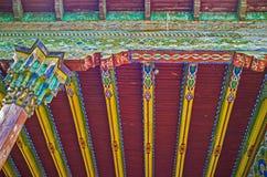Τα arabesques στο παλάτι Khan Στοκ Εικόνες