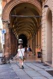Τα arcades της Μπολόνιας Στοκ φωτογραφίες με δικαίωμα ελεύθερης χρήσης