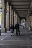 Τα arcades Passeig Πικάσο, Βαρκελώνη Στοκ εικόνες με δικαίωμα ελεύθερης χρήσης