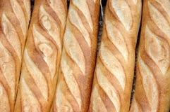 τα baguettes πασπαλίζουν τα γαλ&lamb Στοκ Φωτογραφία