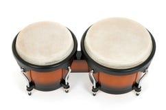 τα bongos απομόνωσαν το λευκό Στοκ εικόνες με δικαίωμα ελεύθερης χρήσης
