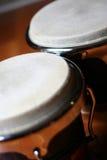 τα bongos κλείνουν επάνω Στοκ Εικόνες
