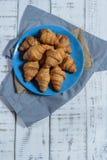 Τα croissants στοκ φωτογραφίες με δικαίωμα ελεύθερης χρήσης