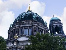 Τα DOM Deutscher που είναι ο προτεσταντικός καθεδρικός ναός στο Βερολίνο Γερμανία Στοκ φωτογραφίες με δικαίωμα ελεύθερης χρήσης