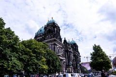 Τα DOM Deutscher που είναι ο προτεσταντικός καθεδρικός ναός στο Βερολίνο Γερμανία Στοκ Φωτογραφία