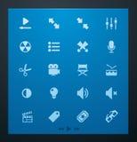 τα glyphs 1 που τίθενται το καθ&omi Στοκ φωτογραφία με δικαίωμα ελεύθερης χρήσης