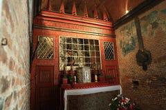 τα interiers, Loreta είναι ένας μεγάλος προορισμός προσκυνήματος σε HradÄ  οποιαδήποτε, μια περιοχή της Πράγας, Δημοκρατία της Τ στοκ εικόνες
