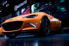Τα 2019 Mazda MX-5 Miata, 30η έκδοση Σικάγο Autoshow 2/17/2019 επετείου στοκ φωτογραφίες