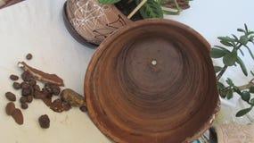 Τα shards του δοχείου και του αργίλου λουλουδιών στοκ φωτογραφία με δικαίωμα ελεύθερης χρήσης