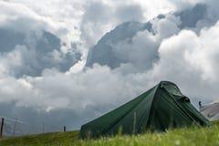 Τείνετε στα βουνά Στοκ Φωτογραφίες