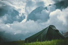 Τείνετε στα βουνά Στοκ εικόνες με δικαίωμα ελεύθερης χρήσης