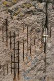 τείχος του Βερολίνου Στοκ εικόνες με δικαίωμα ελεύθερης χρήσης