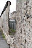 Τείχος του Βερολίνου στην τοπογραφία μουσείων του τρόμου, Γερμανία στοκ φωτογραφίες με δικαίωμα ελεύθερης χρήσης