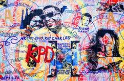 τείχος του Βερολίνου Στοκ εικόνα με δικαίωμα ελεύθερης χρήσης