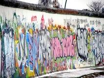 τείχος του Βερολίνου Στοκ Εικόνες
