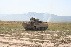 Τεθωρακισμένα οχήματα στο Αφγανιστάν στοκ εικόνα