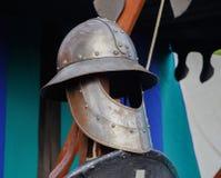 τεθωρακισμένο μεσαιωνικό Στοκ εικόνες με δικαίωμα ελεύθερης χρήσης