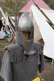 τεθωρακισμένο μεσαιωνικό Στοκ φωτογραφία με δικαίωμα ελεύθερης χρήσης