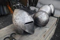 τεθωρακισμένο μεσαιωνι& Στοκ εικόνες με δικαίωμα ελεύθερης χρήσης