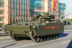 Τεθωρακισμένο όχημα μεταφοράς προσωπικό BTR kurganets-25 Στοκ εικόνα με δικαίωμα ελεύθερης χρήσης