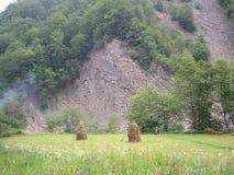 Τεκτονικοί βράχοι πτυχών Στοκ εικόνα με δικαίωμα ελεύθερης χρήσης