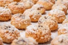 Τελειωμένα τσεχικά σπιτικά γλυκά κουλούρια Στοκ εικόνα με δικαίωμα ελεύθερης χρήσης