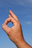 τελειότητα χειρονομίας στοκ εικόνες με δικαίωμα ελεύθερης χρήσης