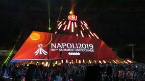 Τελετή έναρξης Universiade απόθεμα βίντεο