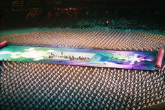 τελετή ολυμπιακή Στοκ Φωτογραφία