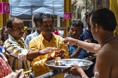Τελετουργικές πρακτικές Hinduism στοκ φωτογραφία