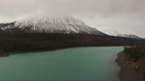 Τελευταία διαδρομή 1 της συνοριακής Αλάσκας λιμνών Kenai σμαραγδένιο χρώμα φιλμ μικρού μήκους