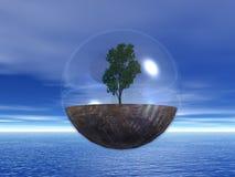 τελευταίο δέντρο διανυσματική απεικόνιση